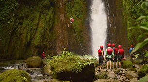 Canyoning-Arenal Volcano National Park-Gravity Falls Canyon in Arenal Volcano National Park-4