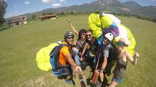Parapente-Rome-Tandem Paragliding flight in Norma, near Rome-3