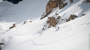 Backcountry Skiing-Val Thorens, Les Trois Vallées-Backcountry skiing in Val Thorens, Alps-5