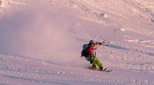 Snowkite-Hardangervidda National Park-Beginner Snowkiting Courses in Hardangervidda National Park-5