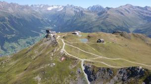 Parapente-Klosters-Summer tandem paragliding flight in Klosters-1