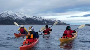 Kayak de mer-Tromsø-Winter Kayaking with Arctic Camp, near Tromsø-1