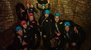 Rafting-Waitomo-'Black Labyrinth' Black Water Rafting in the Waitomo Caves-2