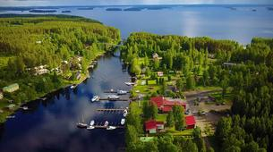 Kayaking-Linnansaari National Park-Canoe/Kayak Beginner Course in Oravi near Linnansaari National Park-3