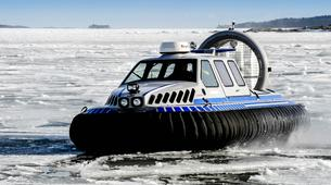 Snow Experiences-Helsinki-Winter Hovercraft Excursion & Ice Floating in Helsinki-2