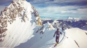 Ski touring-Bled-Ski Touring in the Julian Alps near Bled-1