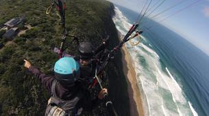 Paragliding-Wilderness National Park-Tandem Paragliding flight from Garden Route coast-3