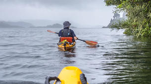 Kayaking-Rotorua-Glow Worm Tour on Lake Rotoiti-4
