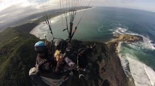 Paragliding-Wilderness National Park-Tandem Paragliding flight from Garden Route coast-1