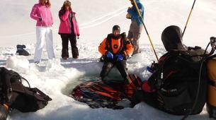 Plongée sous glace-Val Thorens, Les Trois Vallées-Plongée sous glace à Val Thorens-3
