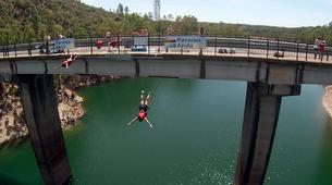 Puenting-Seville-Bridge Jumping from Puente del Madroñalejo near Seville-3