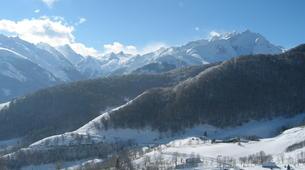 Snowshoeing-Lourdes-Snowshoeing excursion in the Hautacam crests near Lourdes-1