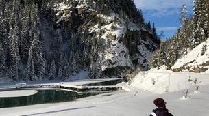 Snowshoeing-Courchevel, Les Trois Vallées-Guided snowshoeing excursion in Courchevel-2