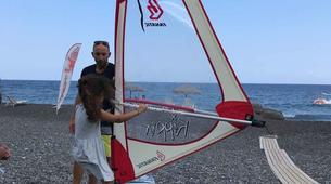 Windsurf-Santorin-Windsurfing for beginners in Santorini-3