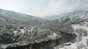 Raquetas de nieve-Morosaglia-Guided Snowshoe Hike in the Asco Valley, Corsica-1