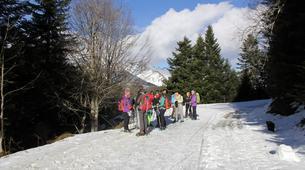 Raquette à Neige-Gavarnie-Randonnée Raquettes au Cirque de Gavarnie, Pyrénées-2