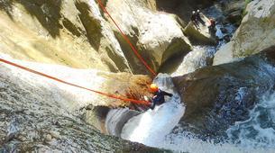 Canyoning-Lake Garda-Intermediate Canyoning Tour in Vajo dell'Orsa Canyon near Lake Garda-5
