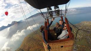 Hot Air Ballooning-Annecy-Hot air balloon flight over Annecy-1