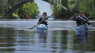 Kayaking-Linnansaari National Park-Canoe/Kayak Beginner Course in Oravi near Linnansaari National Park-2