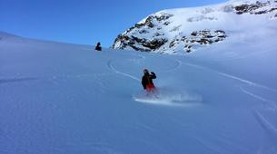 Backcountry Skiing-Bonneval-sur-Arc, Haute Maurienne-Off Piste Skiing in Bonneval-sur-Arc, French Alps-2