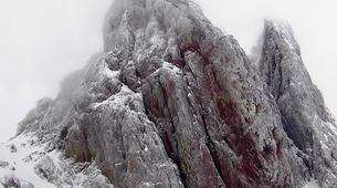 Raquetas de nieve-Morosaglia-Guided Snowshoe Hike in the Asco Valley, Corsica-2