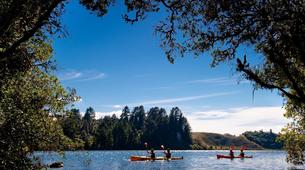Kayaking-Rotorua-Glow Worm Tour on Lake Rotoiti-2