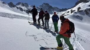 Backcountry Skiing-Tignes, Espace Killy-Safety Avalanche Awareness Session in Tignes-2