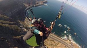 Paragliding-Gran Canaria-Tandem paragliding in Playa de las Canteras, Gran Canaria-12