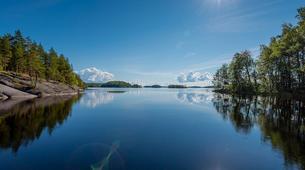 Kayaking-Linnansaari National Park-Canoe/Kayak Beginner Course in Oravi near Linnansaari National Park-4