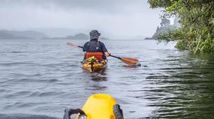 Kayaking-Rotorua-Glow Worm Tour on Lake Rotoiti-3