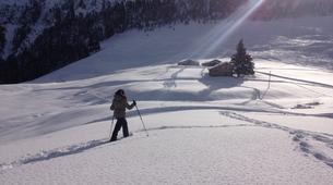Snowshoeing-Courchevel, Les Trois Vallées-Guided snowshoeing excursion in Courchevel-6