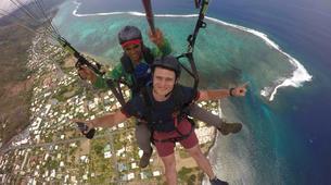 Parapente-Tahiti-Vol en Parapente Biplace à Tahiti-1
