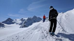 Backcountry Skiing-Courchevel, Les Trois Vallées-Backcountry skiing or snowboarding in Courchevel-4