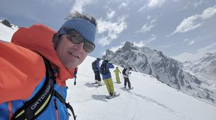 Backcountry Skiing-Courchevel, Les Trois Vallées-Backcountry skiing or snowboarding in Courchevel-2