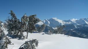 Snowshoeing-Lourdes-Snowshoeing excursion in the Hautacam crests near Lourdes-5