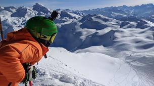 Backcountry Skiing-Courchevel, Les Trois Vallées-Backcountry skiing or snowboarding in Courchevel-3