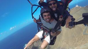Paragliding-Gran Canaria-Tandem paragliding in Playa de las Canteras, Gran Canaria-10