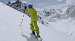 Backcountry Skiing-Courchevel, Les Trois Vallées-Backcountry skiing or snowboarding in Courchevel-9