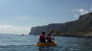 Sea Kayaking-Costa Blanca-Sea Kayaing Tour of Tallada Caves in Denia-3