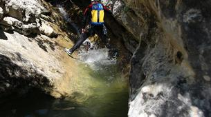 Canyoning-Lake Garda-Intermediate Canyoning Tour in Brescia near Lake Garda-4
