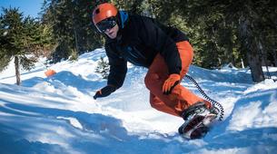 Freestyle snowboarding-Großglockner-Snowskating at the Grossglockner-1
