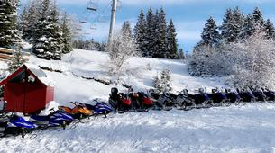 Snowshoeing-Chamrousse-Guided snowmobile and snowshoeing excursion in Chamrousse-1
