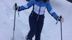Snowshoeing-Courchevel, Les Trois Vallées-Guided snowshoeing excursion in Courchevel-4