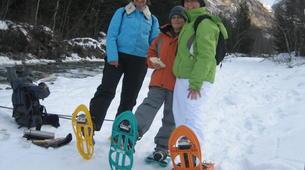 Snowshoeing-Courchevel, Les Trois Vallées-Guided snowshoeing excursion in Courchevel-3