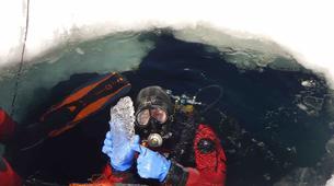 Plongée sous glace-Val Thorens, Les Trois Vallées-Plongée sous glace à Val Thorens-1