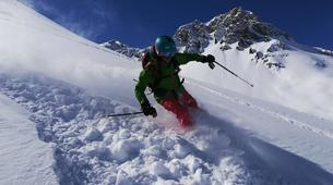 Backcountry Skiing-Tignes, Espace Killy-Off Piste Ski Guiding Session in Tignes-1