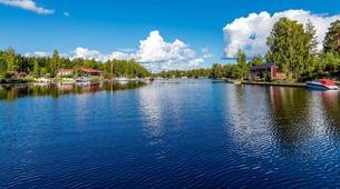 Kayaking-Linnansaari National Park-Canoe/Kayak Beginner Course in Oravi near Linnansaari National Park-5