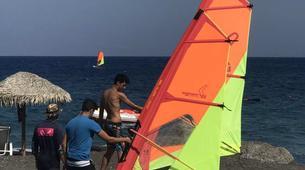 Windsurf-Santorin-Windsurfing for beginners in Santorini-2