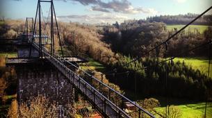 Tyrolienne-Viaduc de la Souleuvre-Balançoire Géante du Viaduc de la Souleuvre, Normandie-5