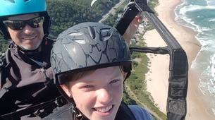 Paragliding-Wilderness National Park-Tandem Paragliding flight from Garden Route coast-6